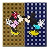 CODELLO TUCH Dreieckstuch mit PUNKTEN und DISNEY Mickey Minnie Loved 82083827 (NAVY BLUE)