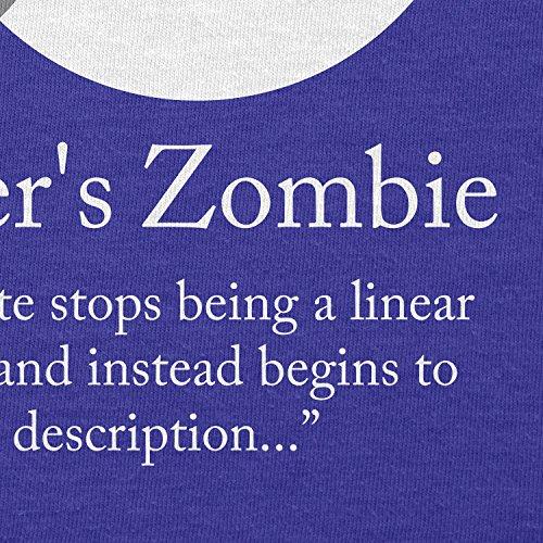 TEXLAB - Schrödinger´s Zombie - Herren Langarm T-Shirt Marine