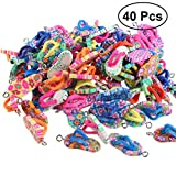 Best Teacher Pendants - 40pcs Artificial Soft Clay Personalized Flip-Flop Ornament Pendant Review