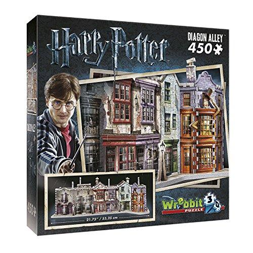 HARRY POTTER Puzzle 3D Diorama DIAGON ALLEY Ufficiale 450 PEZZI