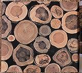 MDDW-Pali di legno imitazione venatura del legno primitiva 3D cinese ristorante ristorante Club Abbigliamento Negozio PVC carta da parati , 2013
