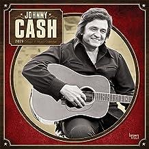 Johnny Cash 2019 - 18-Monatskalender (Wall-Kalender)