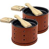 COOKUT - Lumi - Une raclette à la Bougie - Faites Fondre Votre Fromage en 3 Minutes - A Table, Devant la télé ou même en…