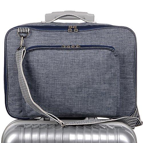 Leinwand Falten Anzug (Arxus New Type Multifunktionale Mode Travel Duffel Aufbewahrungsbeutel Wasserdichtes Nylon)
