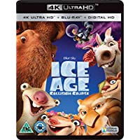 Ice Age: Collision Course (UHD 4K Blu-ray + HD UV Copy) [2016]