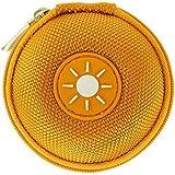 Mini-Etui - Sonne, nur 7cmØ, z.B. Hülle für iPod Shuffle oder Case für Ohrhörer, bzw. Kopfhörer (iPhone, iPod, iPad, S3 etc.) oder für SD-Karte, USB-Stick