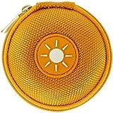 Mini-Etui - Sonne, nur 7cm, z.B. Hülle für iPod Shuffle oder Case für Ohrhörer, bzw. Kopfhörer (iPhone, iPod, iPad, S3 etc.) oder für SD-Karte, USB-Stick
