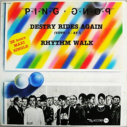 Destry Rides Again (Yippy-I-Ay !) / Rhythm Walk [Vinyl Single 12'']