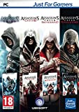 Quadruple Pack - Assassin's Creed: 1 + 2 + Brotherhood + Revelations [Importación francesa]