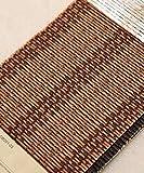 WUFENG Vorhang Bambusvorhang Schatten Schattierung Korrosionsschutz Rollo Tee Raum Wohnzimmer, Mehrere Größen Kann Angepasst Werden Vorhänge (Farbe : C, größe : 80 * 150cm)