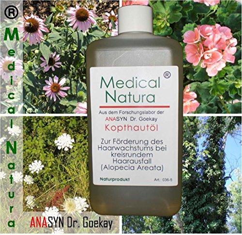 500 ml huile scalper - pour favoriser la croissance des cheveux dans la perte de cheveux par endroits ( Alopecia areata ). Produit naturel.