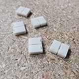 2polige-Lötfreie Anschlussklemme für 8mm LED-Streifen einfarbig (5er Packung)