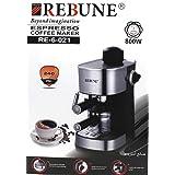 REBUNE ESPRESSO COFFEE MAKER 800W RE-6-021