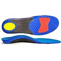 CosyInSofa Inserti ortotici a tutta lunghezza con plantari plantari Solette per scarpe sportive Comfort plantari…
