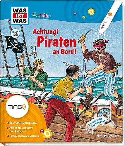 Produktbild bei Amazon - Piraten an Bord: 600 Hörerlebnisse und Sounds unter den Klappen (Antippen, Spielen, Lernen!)