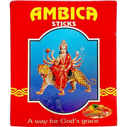 Ambica Dhoop Sticks, 64g Carton