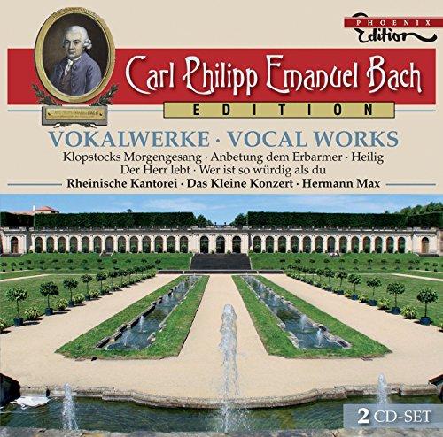 CARL PHILIPP EMANUEL BACH: Vocal Works / Rheinische Kantorei, Das Kleine Konzert, Max, Schlick, Jochens, Helling, Schwarz, Koslowsky