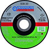 Im Trennscheibenshop 10x Trennscheibe, S32_Ø 230 x 3,0 mm, Stein Beton + NE Metall, Natur Kunststein, Schiefer, Marmor usw, Premium-Qualität.