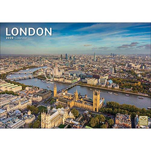 London A4 Calendar 2020