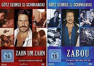 Götz George - Schimanski - 2 DVD Set (Zahn um Zahn + Zabou) - Deutsche Originalware [2 DVDs]