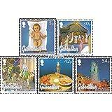 Gibraltar 1058-1062 (completa.edición.) 2003 Navidad (sellos para los coleccionistas)