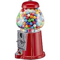 Balvigumball machineAmericanDreamRedCoinbankanddispenserforcandy,gum,chocolates,nutsWorkswithdifferentcoinsMetal/Glass23x11x12cm