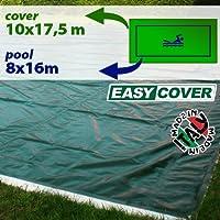 Telo di copertura invernale per piscina 8 x 16 mt