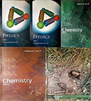 NCERT Physics Textbook Part - 1 And 2 , Chemistry Textbook Part - 1 And 2 , Biology Textbook For Class - 11 (