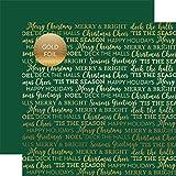 ECHO PARK Paper Company Gold Folie doppelseitig Karton, 30,5x 30,5cm