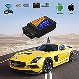 Auto-Codeleser-Scan-Werkzeug des Auto-Hotom OBD2, drahtloses Auto OBD 2 des WIFI, Scanner-Adapter-Kontrollmotor-Diagnose-Werkzeug für iOS u. Android