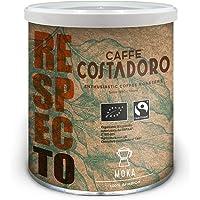 CAFFE' COSTADORO Respecto, 00% Arabica, Bio E Fairtrade Per Moka - Lattina Da 250G, Caffè