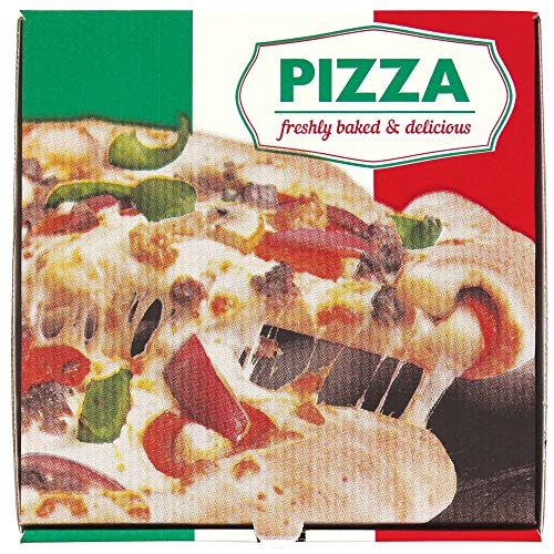 Italian Pizza Box White 10inch - 1x100