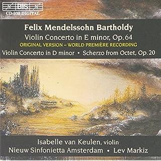 Violin Concerto in E Minor (Nieuw Sin Ams, Markiz)