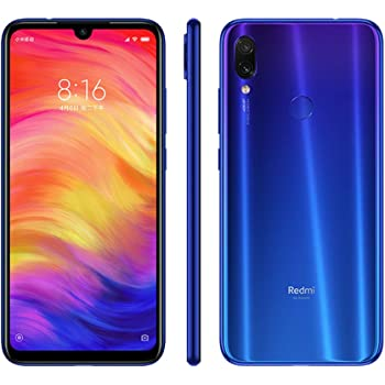 Xiaomi Redmi Note 7 64GB Handy, blau, Android 9.0 (Pie), Dual SIM
