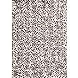 Taleta Filzkugelteppich aus 100% Schurwolle Handgefilzt rechteckig Meliert Beige Grau, Größe:90x160cm