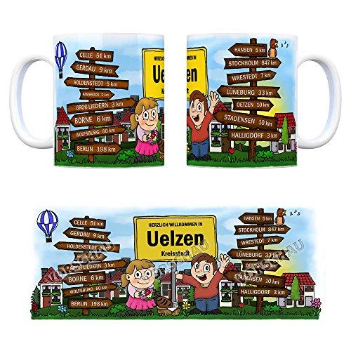 trendaffe - Herzlich Willkommen in Uelzen Lüneburger Heide Kaffeebecher - 2