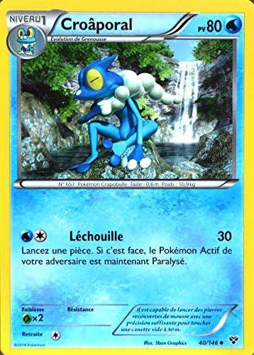carte Pokémon 40/146 40/146 40/146 Croâporal 80 PV XY NEUF FR B075Z7RYTZ 19aec3