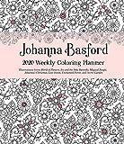 Johanna Basford Weekly Coloring Planner 2020 Calendar