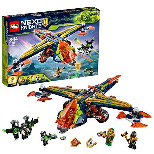 Lego nexo Knights 72005-aarons ballesta