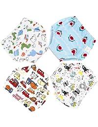 b2fb5318 La Vogue 4Packs Toddler Kids Cartoon Potty Training Pants Babys Cotton  Washable Training Nappy Underwear
