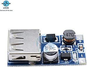 eHUB 0.9V-5V DC to 5V DC Step Up Converter DC-DC Power Boost Module Board with USB Output