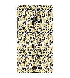 PrintVisa Designer Back Case Cover for Microsoft Lumia 540 Dual SIM (Girly Pattern Tribal Floral Fabric Culture Rajastan Andhra)
