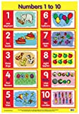 Numbers 1 to 10 (Laminated posters)