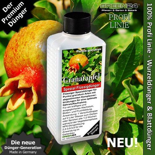 Granatapfel-Dünger HIGH-TECH NPK für Punica granatum, Grenadine Pflanzen in Beet und Kübel (fertilizer)