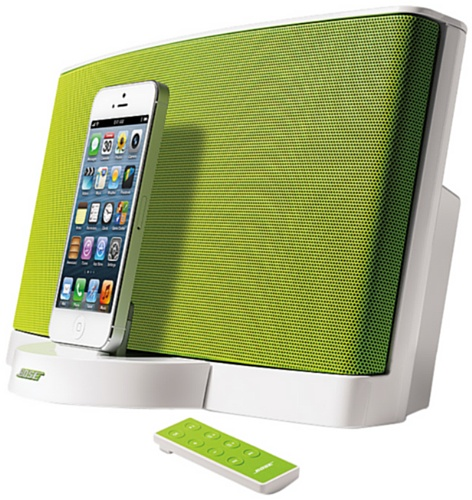 Bose ® SoundDock Serie III Digital Music System (geeignet für Apple iPod/iPhone) grün