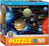 Eurographics the Solar System MO Puzzle (100 Pieces)