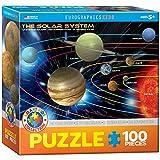 Eurographics le système solaire Mo Puzzle (100pièces)