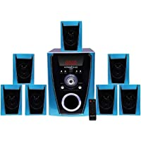 Krisons Polo 7.1 Home Cinema Speaker System Multimedia with FM Stereo, Bluetooth, USB/SD/MMC/AUX Function