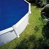 Manufacturas Gre CPR650 - Bâche été à bulles pour piscine ronde 165MC Ø6,40m