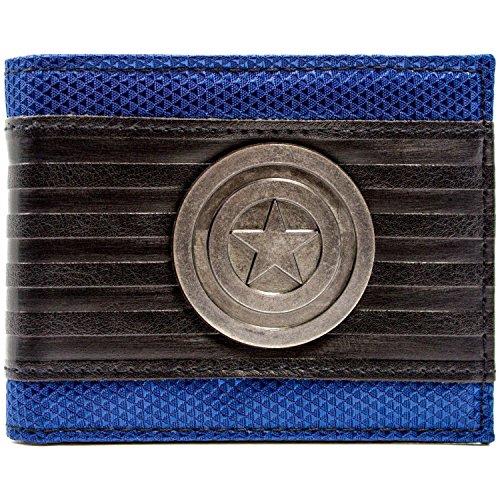 Marvel Captain America Symbol Mehrfarbig Portemonnaie Geldbörse